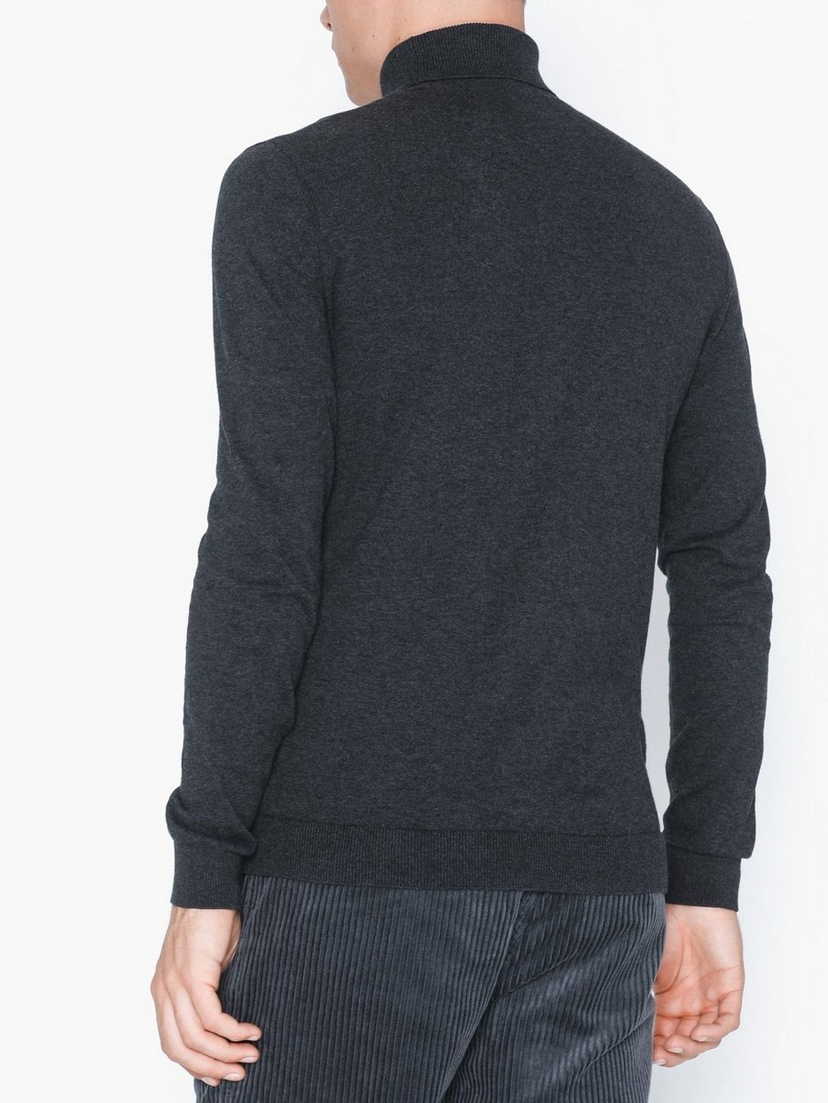 Marl Roll Neck Knitted Jumper