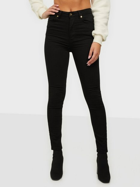 the ODENIM O-High Jeans Skinny fit Sort