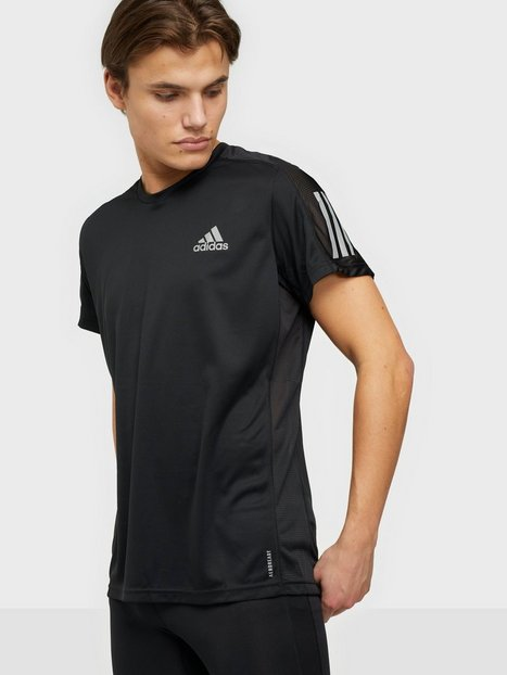 Adidas Sport Performance Own the Run Tee Trænings t-shirts Sort