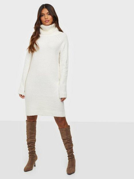 Vila Viflinka Knit Cowlneck L/S Dress/Su Loose fit dresses