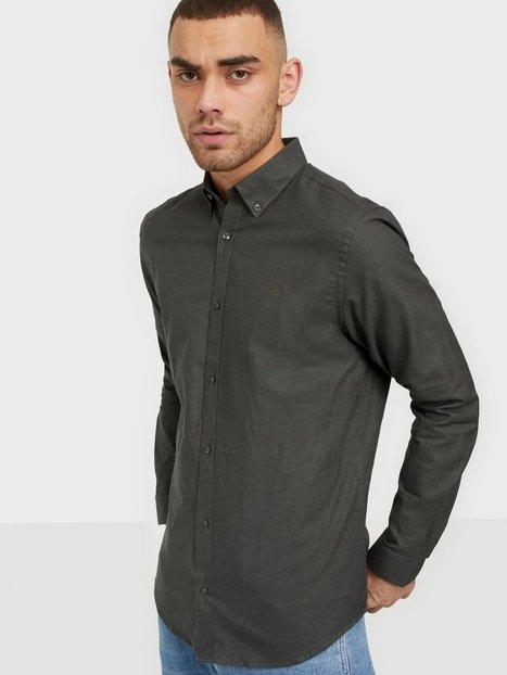 Jack & Jones Jprblaoccasion Grindle Shirt L/S Skjorter Rosin Slim Fit