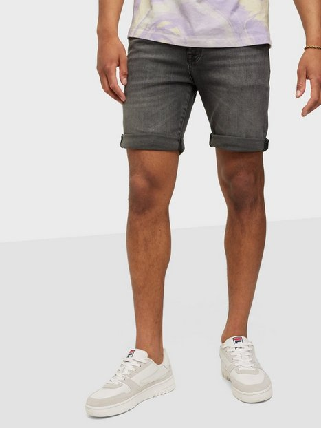 Selected Homme Slhalex 334 Grey Su-St Dnm Shorts W Shorts Grey