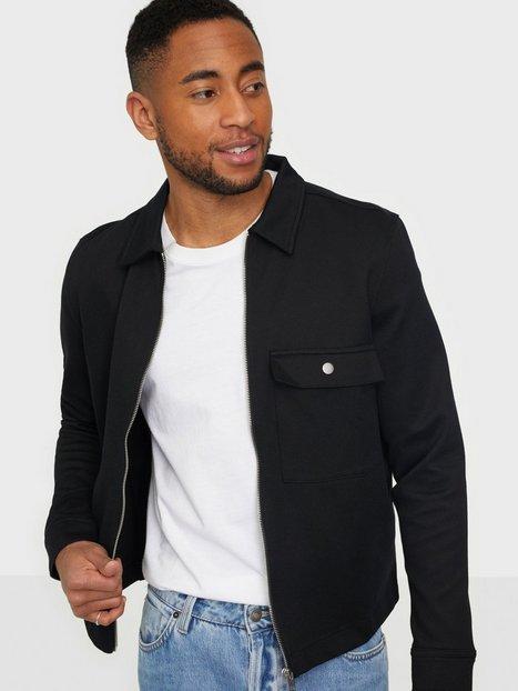 Selected Homme Slhregjamie Sweat Jacket G Trøjer Black