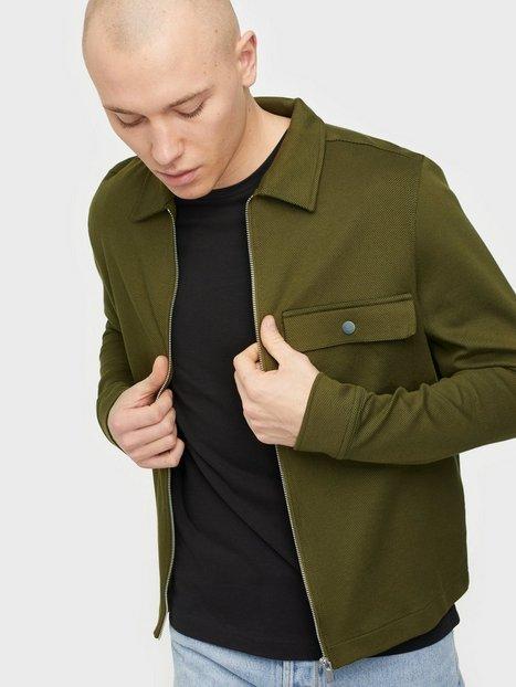 Selected Homme Slhregjamie Sweat Jacket G Trøjer Fir Green
