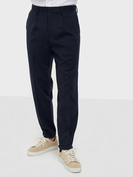 Selected Homme Slhslimtapered-Jim Flex Ankle Trs G Bukser Navy Blazer