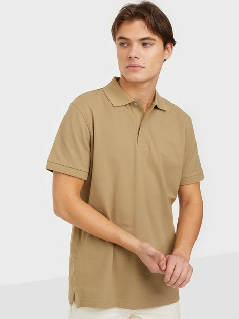 Selected Homme Slhneo Ss Polo s Noos Polotrøjer Kelp