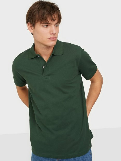 Selected Homme Slhneo Ss Polo s Noos Polotrøjer Sycamore