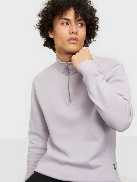 Only & Sons Onsceres Life Half Zip Sweat Trøjer Raindrops