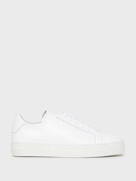 J Lindeberg Signature Leather Sneaker Sneakers White