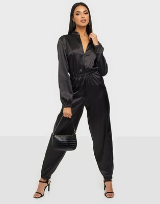 NLY One Satin Jumpsuit Jumpsuits