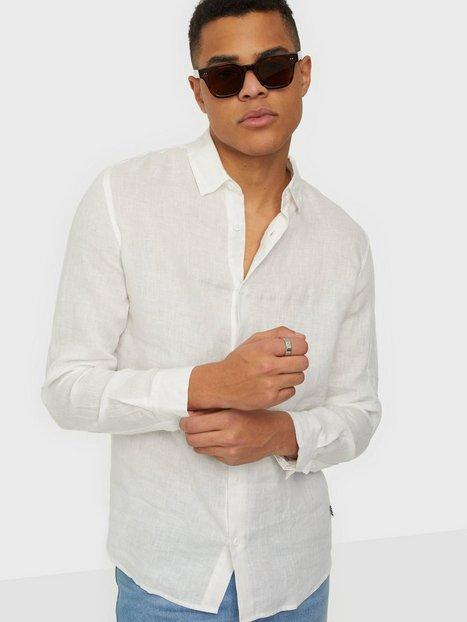 Tailored Originals TOArmin LS Skjorter Offwhite