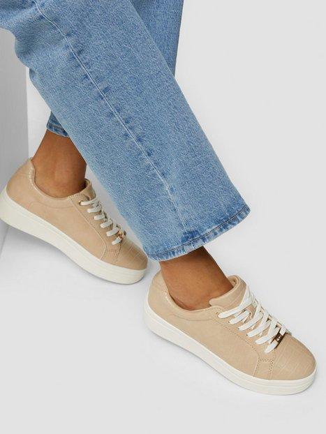 Duffy Classic Sneaker Low Top Beige