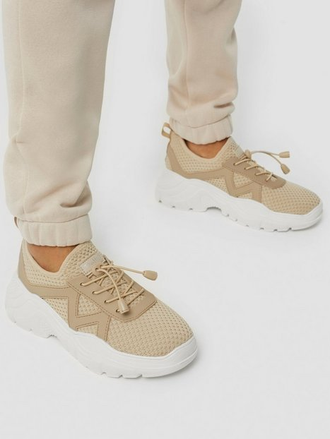 Duffy Sport Sneaker Low Top Taupe