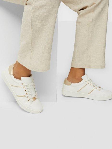 Duffy Metallic Detail Sneaker Low Top Hvid