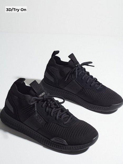 BOSS Titanium_Runn_knst1 10232616 01 Sneakers Sort