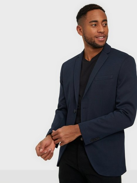 Jack & Jones Jjephil Jersey Blazer Blazere & jakkesæt Dark Navy Super Slim Fit