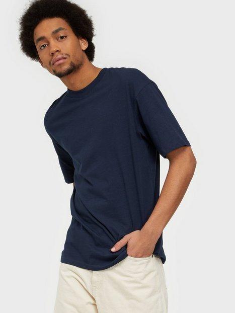 Jack & Jones Jorbrink Tee Ss Crew Neck Noos T-shirts & undertrøjer Navy Blazer Box