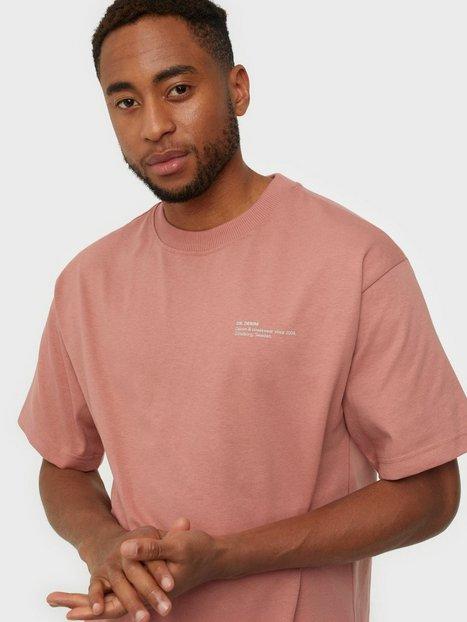 Dr Denim Nixon Tee T-shirts & undertrøjer Terracotta