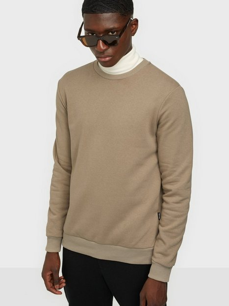 Only & Sons Onsceres Life Crew Neck Noos Trøjer Chinchilla