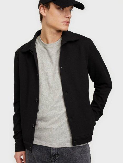 Selected Homme Slhwade Hybrid Jacket G Skjorter Black