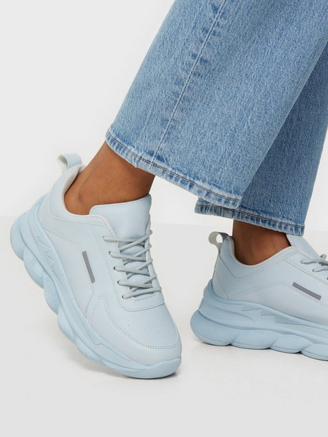 NLY Shoes Cotton Candy Sneaker Sneakers Lyseblå