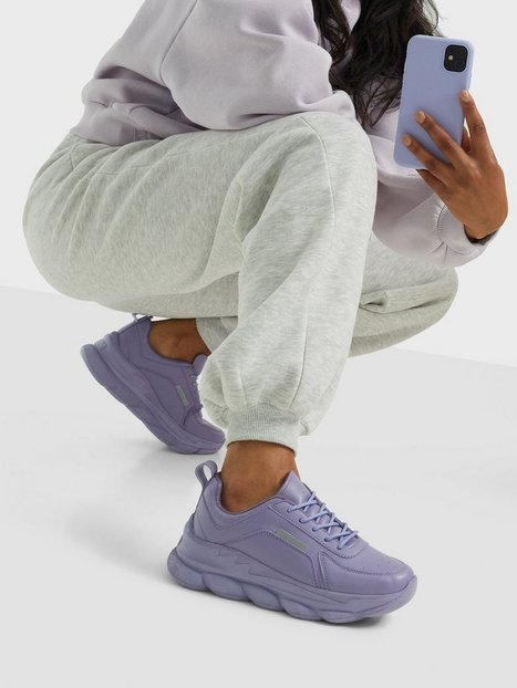 NLY Shoes Cotton Candy Sneaker Chunky Sneakers Lavendel
