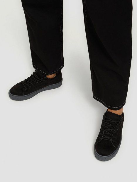 NLY Shoes Crepe Sole Sneaker Low Top Svart