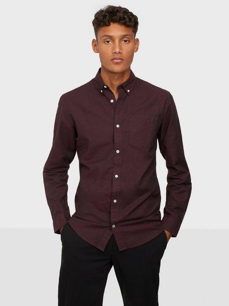 Jack & Jones Jjeoxford Shirt L/S S21 Noos Skjorter Port Royale Slim Fit