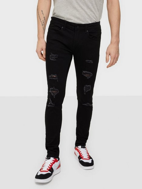 Only & Sons Onswarp Life Ski Dam Black Pk 8656 Jeans Black