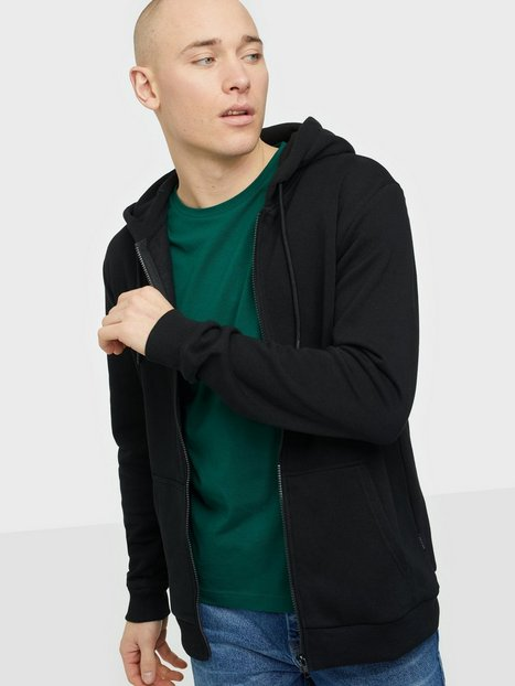 Only & Sons Onsceres Life Zip Thr. Hoodie Sweat Trøjer Black