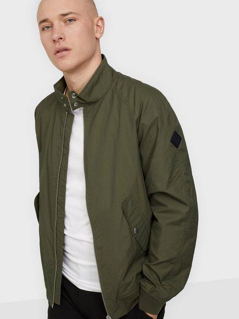 Gant D1. Nylon Harrington Jacket Jakker & frakker Leaf
