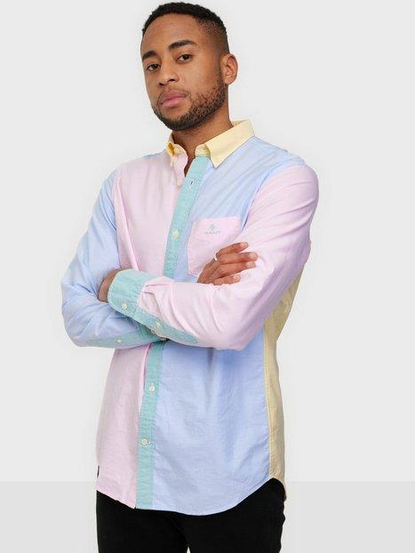 Gant D2.Reg Panel Shirt Bd Skjorter Multicolor