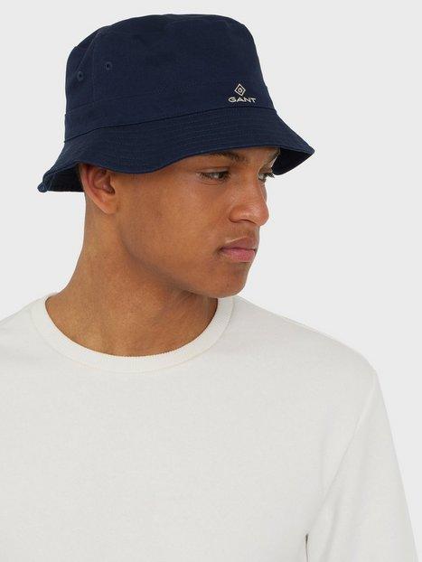 Se Gant D1. Bucket Hat Hatte Marine ved NLY Man