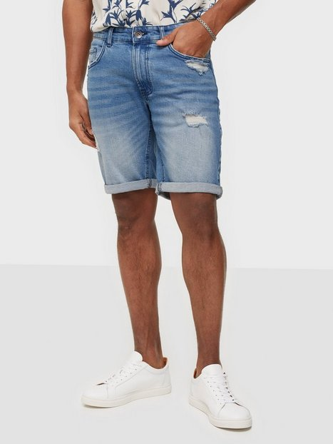 Redefined Rebel RROslo Destroy Shorts Shorts Soft Blue