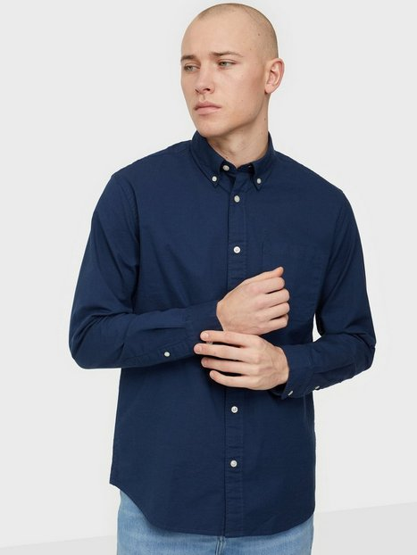 Selected Homme Slhregrick-Ox Flex Shirt Ls W Noos Skjorter Moonlit Ocean