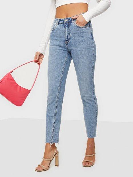 Vero Moda Vmbrenda Hr Straight a Cut GU384 Ga Mom Jeans