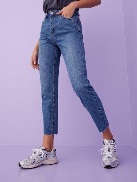 Vero Moda Vmbrenda Hr Straight a Cut GU385 Ga Mom Jeans