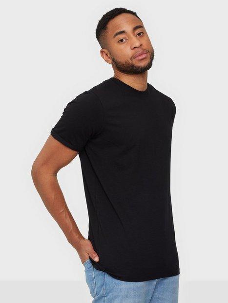 Jack & Jones Jprblalogo Spring Tee Ss Crew Neck T-shirts & undertrøjer Black Reg Fit