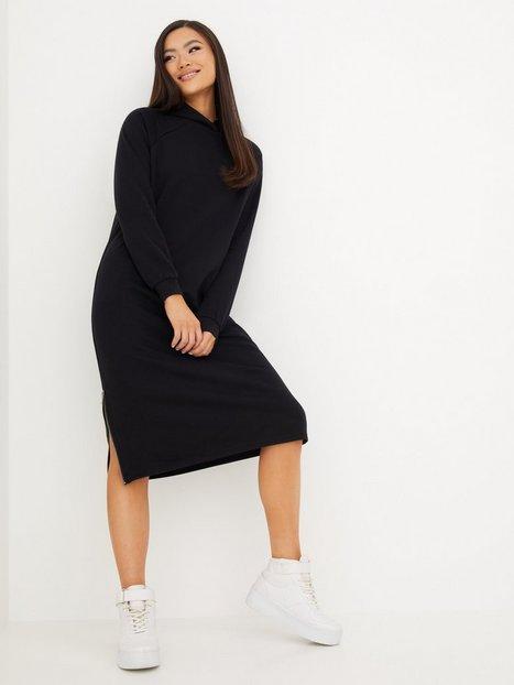 Noisy May Nmhelene L/S Sweat Dress Bg Noos Kjoler Black
