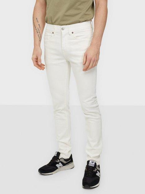 Selected Homme Slhslim-Leon 4040 White St Jns U No Jeans White Denim