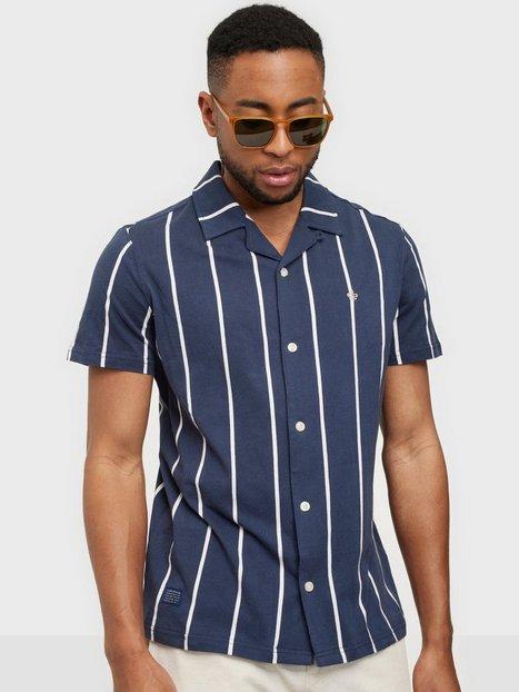 Morris Barnett Jersey Shirt Skjorter Blue