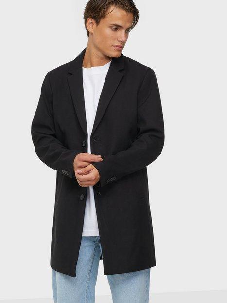 Jack & Jones Jjemarlow Coat Sn Jakker & frakker Black
