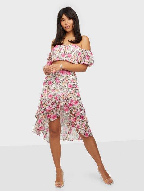NLY Trend In Bloom Skirt Midi nederdele Blomstret