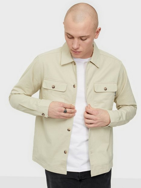 Only & Sons Onsilvio Life Ls Twill Overshirt Skjorter Pelican