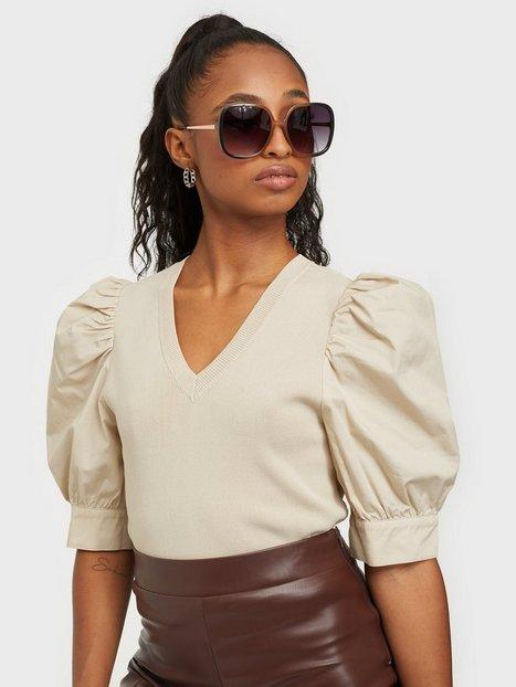 Co'couture Mercia V-Mix Top Hverdagsbluser