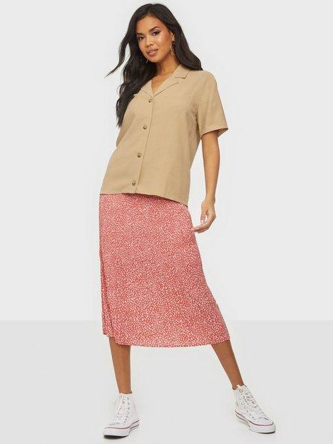 MOSS COPENHAGEN Clover Skirt AOP Midi nederdele