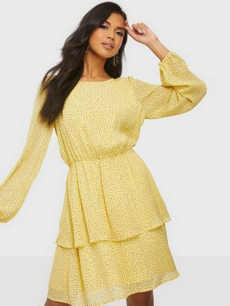 MOSS COPENHAGEN Linoa Rikkelie LS Dress AOP Loose fit dresses