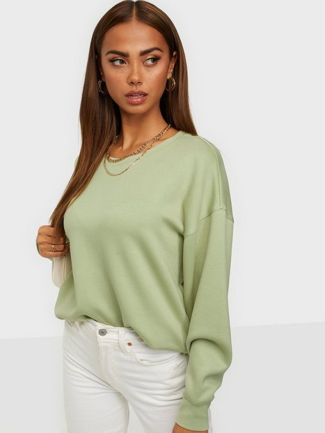 MOSS COPENHAGEN Ima DS Sweatshirt Trøjer Green