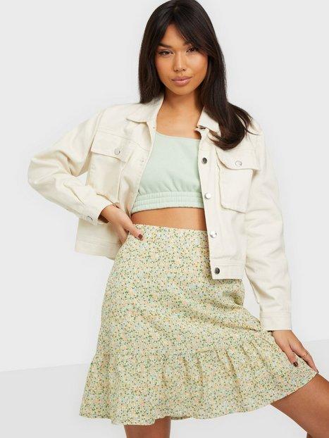 MOSS COPENHAGEN Evette Short Skirt AOP Mini nederdele