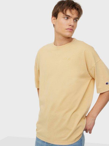 Champion Reverse Weave Crewneck T-Shirt T-shirts & undertrøjer Beige